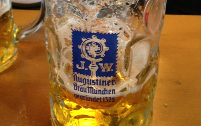 Oktoberfest: where it's acceptable to drink beer liters at a time!