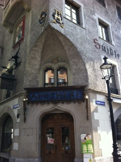 Coolest pharmacy – looked like something out of Hogwarts!
