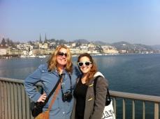 K Mau and me on the lake!