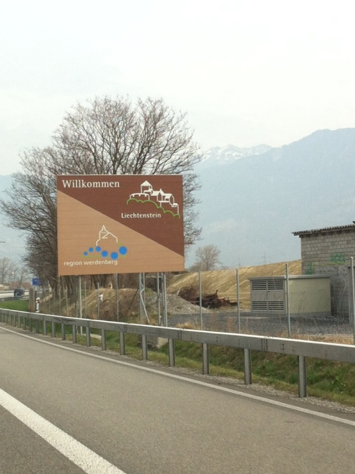 Welcome to Liechtenstein! Don't blink!