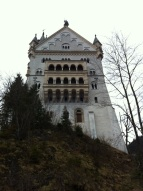Back of the castle.