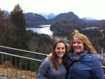 Me and K Mau and a gorgeous view.