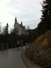 Back of Neuschwanstein.