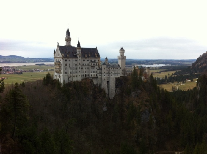 Best view of the castle - from Marionbrücke.
