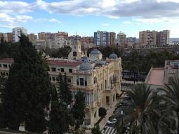 View from Alcazaba of Málaga