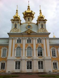 Front of Peterhof