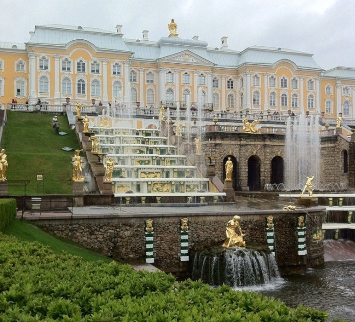 Back of Peterhof Palace