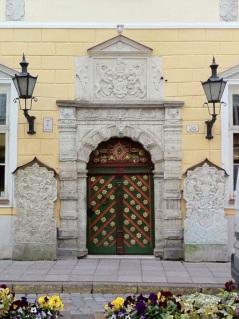 Door of the Brotherhood of Blackheads