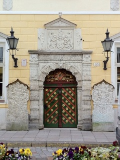 Door of the Brotherhood of Blackheads