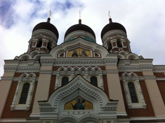 Front of Alexander Nevsky Cathedral