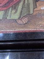 Close-up of the mosaics!