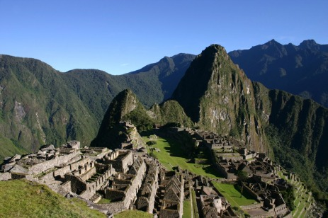 See the ruins of Machu Picchu
