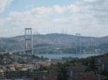 Walk the Bosphorus Bridge in Turkey