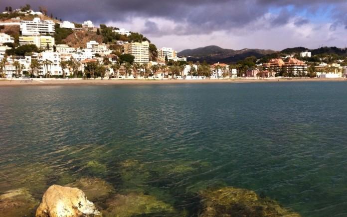 Gorgeous beach in Málaga