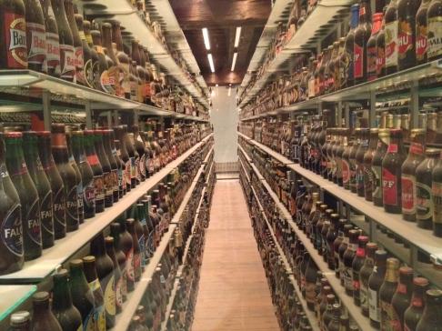 Carlsberg Bottle Exhibit