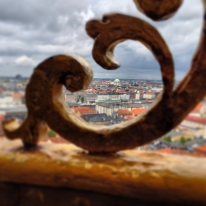 View from the Church of Our Saviour
