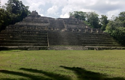 Caana - the tallest monument at Caracol.