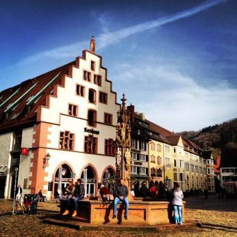 Muenstermarkt, Freiburg im Breisgau