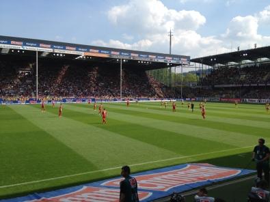Stadion an dem Schwarzwald