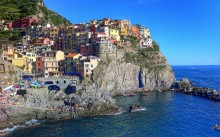 Manarola on a gorgeous day!