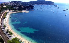 View of Villefranche from above.