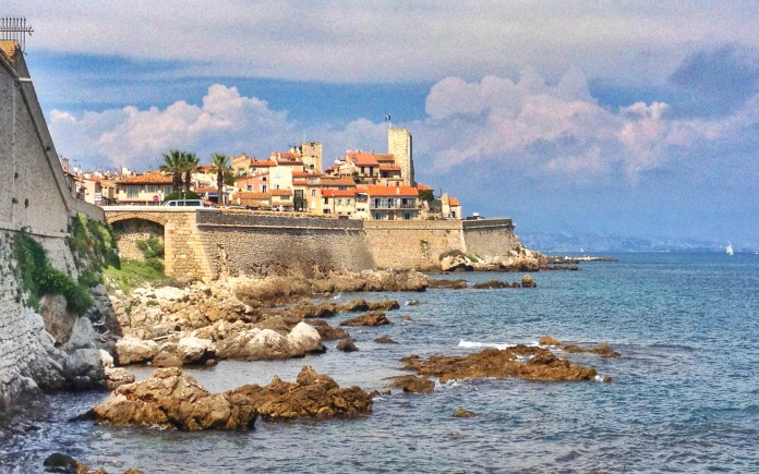 The castle in Antibes now houses a Picasso museum