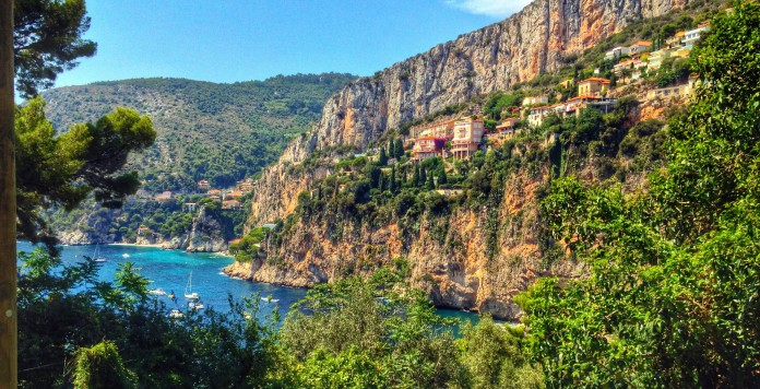 Cap d'Ail's secluded cove