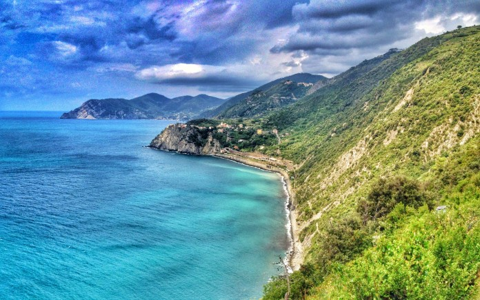 From here you can see Corniglia and Monterosso
