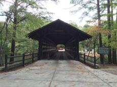 Covered bridge in Stone Mountain Park