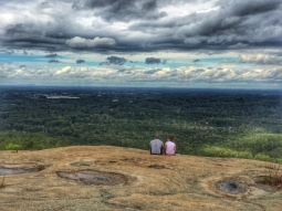 From the top of Stone Mountain